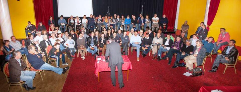 Conférence d'Etienne Pradier à la Journée du CMA 2013 à l'Ange Bleu.