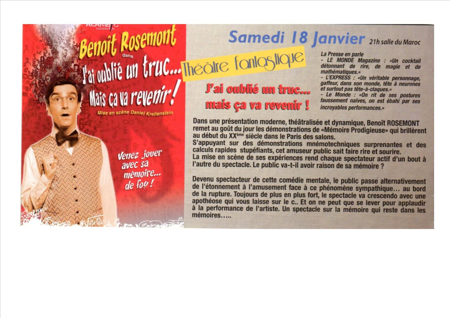 Benoît Rosemont à Morcenx