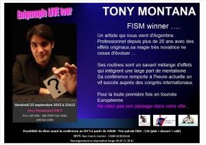 Présentation Tony Montana
